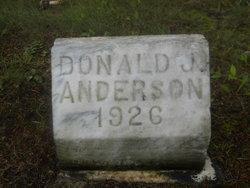 Donald J Anderson