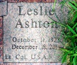 LTC Leslie Ashton Lennox Jr.