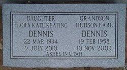 """Hudson Earl """"Hud"""" Dennis"""