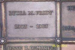 Lydia Marie <I>Pearson</I> Pridy