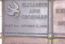 Elizabeth Anne Crossman