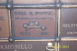 Opal Florence <I>Edwards</I> Foster