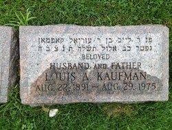 Louis A Kaufman