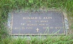 Donald George Akin