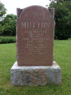 Mary Jane <I>Mutton</I> Baker