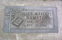 Olive Margery Hampton