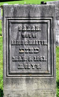 """Sally """"Sarah"""" <I>Martin</I> Martyn"""