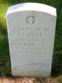 2LT Francis W Clarke