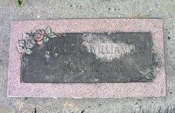Marie C. Williamson
