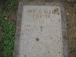 Anne I. <I>Staab</I> Curtin