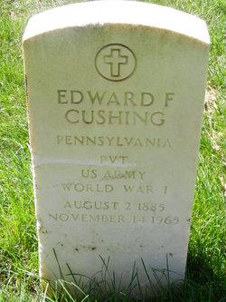 Edward F Cushing