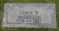 Stacy W Anderson