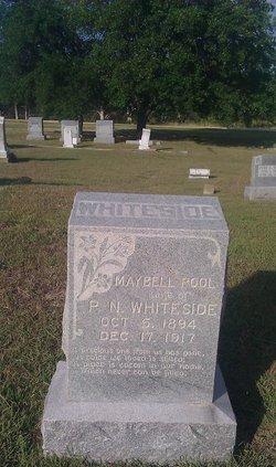 Maybell <I>Pool</I> Whiteside