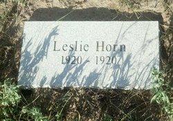 Leslie Horn