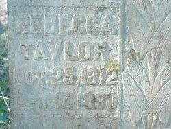 Rebecca <I>Mayberry</I> Taylor
