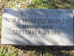 Nora Haskell Hadley