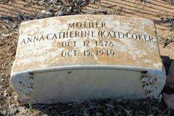 "Anna Catherine ""Kate"" <I>Hans</I> Coker"