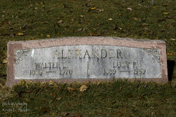 Lucy R. <I>Ritter</I> Alexander