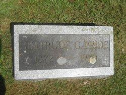 Gertrude G. Pride