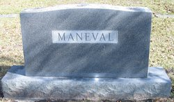 Elizabeth Jeanett <I>Dedrick</I> Maneval