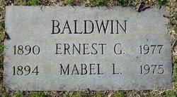 Mabel L. Baldwin