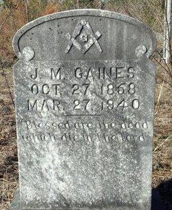 J. M. Gaines