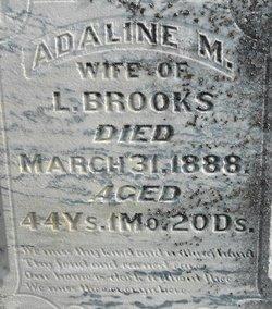 Adaline M Brooks