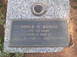 Doyle D Booth