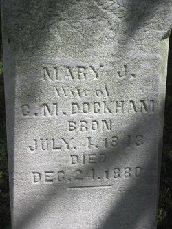 Mary Jane <I>Donohue</I> Dockham