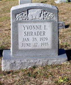 Yvonne E. Shrader