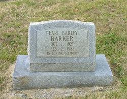 Pearl <I>Barley</I> Barker