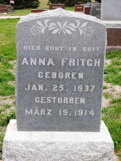 Anna <I>Dvorak</I> Fritch
