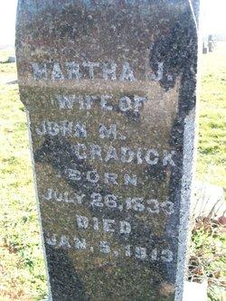 Martha Jane <I>Killough</I> Cradick