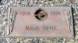 Mabel Helen <I>Grabham</I> Benik