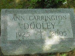 Ann Louise <I>Carrington</I> Dooley