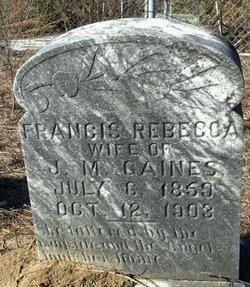 Francis Rebecca Gaines