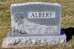 Mary Virginia <I>Eury</I> Albert