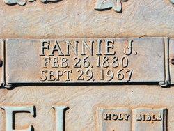 Fannie <I>Jackson</I> McDaniel