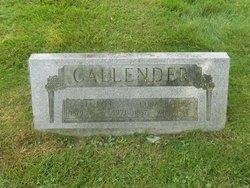 Cora <I>Baker</I> Callender