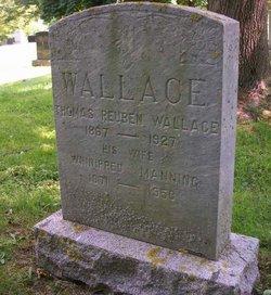 Winifred Isabella Manning <I>Longley</I> Wallace