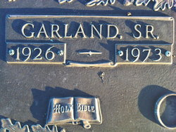 Garland Overman, Sr