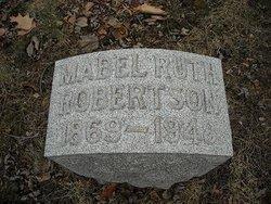 Mabel Ruth <I>Dewey</I> Robertson
