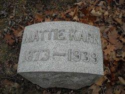 Mattie Karn Robertson