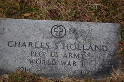 Pvt Charles S Holland