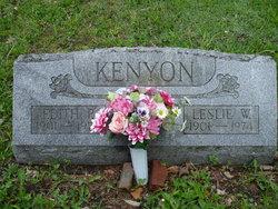 Leslie W. Kenyon