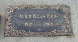Alice Nora <I>DeCoursey</I> King
