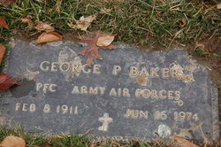 PFC George P Baker