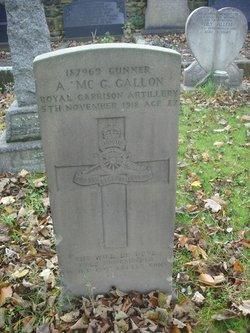 Arthur McGrevy Gallon