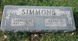 Darrell M Simmons