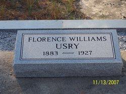 Florence <I>Williams</I> Usry
